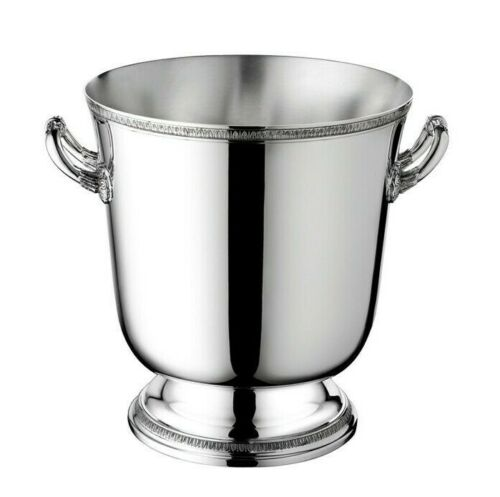 Malmaison by Christofle Paris France Silver Plate Champagne Cooler Bucket - New