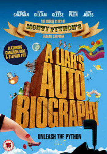 A LIARS AUTOBIOGRAPHY - THE UNTRUE STORY OF MONTY PYTHONS GRAHAM [UK] NEW DVD