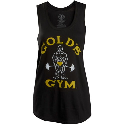 Gold's Gym Women's Classic Joe Racerback Tank Top - Black <br/> Exclusive Seller of Gold's Gear on eBay