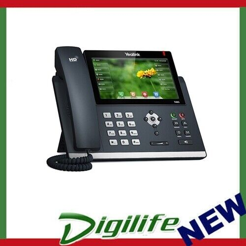 """Yealink T48S 16 Line IP phone, 7"""" 800x480 pixel colour touch screen, Optima HD"""