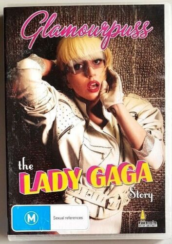 Glamourpuss - The Lady Gaga Story (DVD) **BRAND NEW / SEALED** (All Regions)