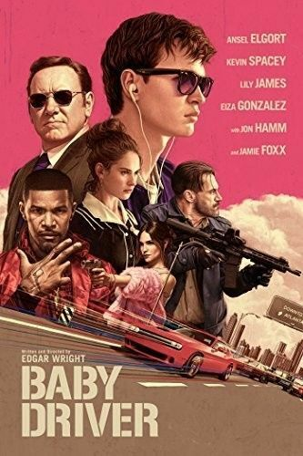BABY DRIVER NEW DVD