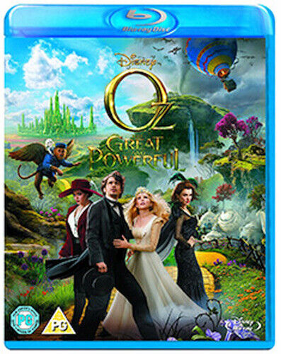 OZ - THE GREAT AND POWERFUL BLU-RAY [UK] NEW BLURAY