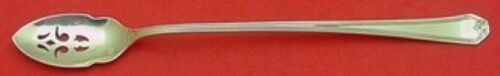"""Lady Baltimore by Whiting Sterling Silver Olive Spoon 7 3/8"""" Long Custom"""