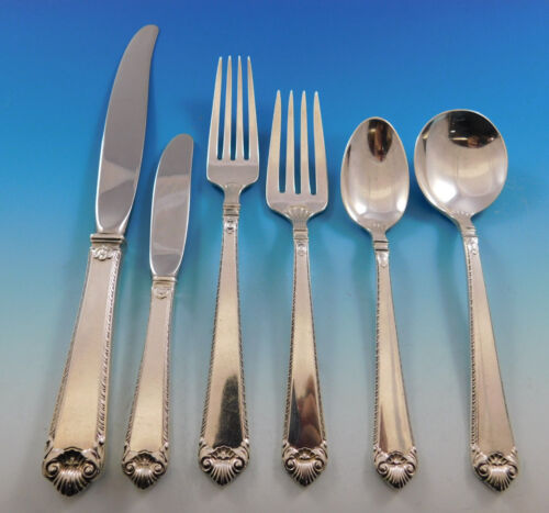Lamerie by Tuttle Sterling Silver Flatware Service for 8 Set 48 Pieces