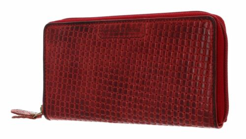 bruno banani Zip Around Wallet Wichita con Zip Around Wallet Red