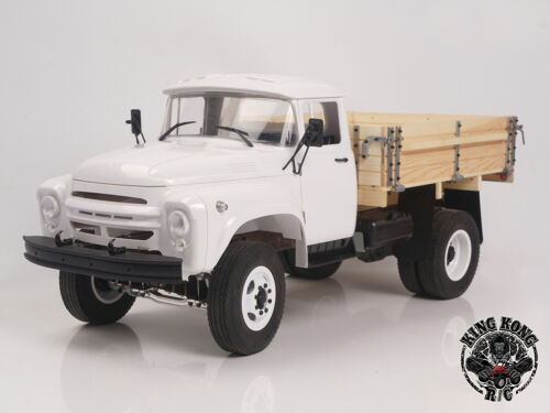 Kingkong RC 1/12 ZL-130 Ⅱ 4x2 Tractor Truck Metal Chassis KIT Set w/Wooden Bed