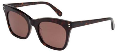 Occhiali da Sole Stella McCartney SC0025S DARK HAVANA/BROWN 52/0/0 donna