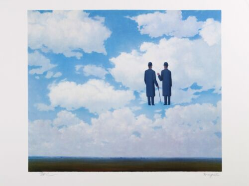 Rene Magritte - The Infinite Recognition (signed & numbered lithograph)