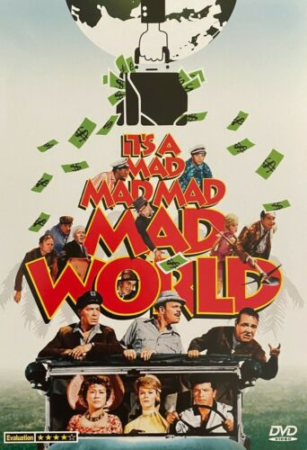 It's a Mad, Mad, Mad, Mad World (1963) - Spencer Tracy & Milton Berle(Brand New)