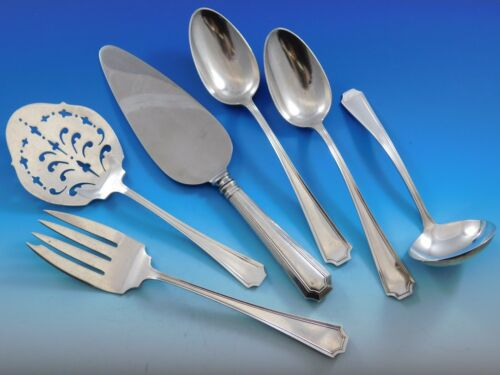 Fairfax by Gorham Sterling Silver Essential Serving Set Large 6-piece