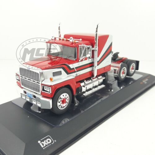 1/43	CAMION TRUCK TRACTOR FORD LTL 9000 1978 RED/GREY ROJO/GRIS IXO MODELS