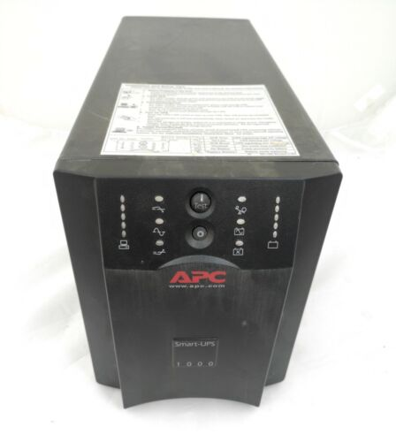 APC SUA1000I Smart-UPS 1000VA 670W 230V TOWER UPS w New Battery 6-mth wty