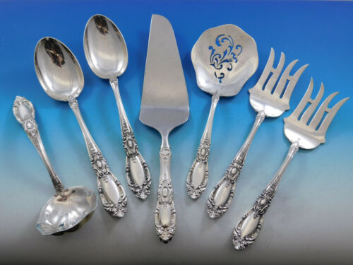 King Richard by Towle Sterling Silver Essential Serving Set Large Hostess 7pc