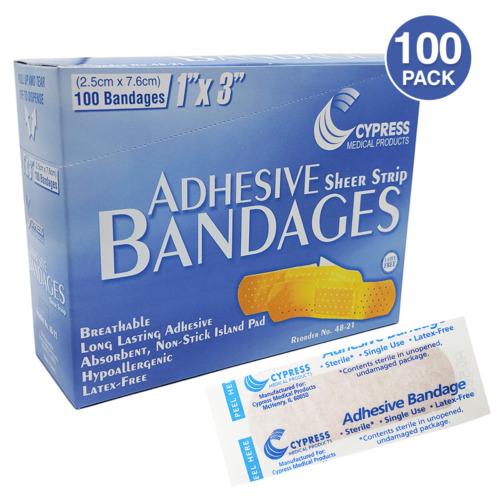 Cypress Medical Adhesive Bandages 1