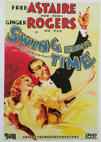 Swing Time (1936) - Fred Astaire & Ginger Rogers (Brand New)