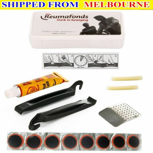 AU Bike Tyre Tire Tube Puncture Repair Tool Kit Bicycle Cycling Patches Glue Tyr