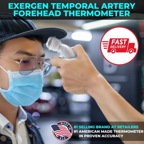 EXERGEN Temporal Artery Thermometer TAT-2000C.Free Priority Mail Shipping. <br/> Latest Model. Made in U.S.A
