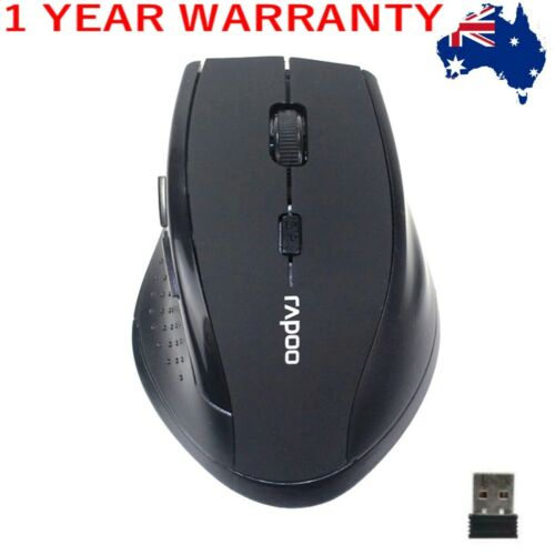 AU 2.4GHz 6D USB Wireless Optical Gaming Mouse 2000DPI Mice For Laptop Desktop P