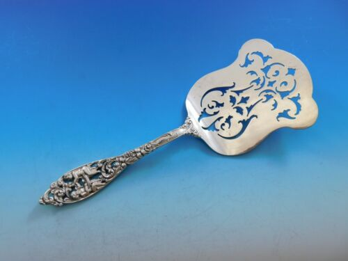 """Labors of Cupid by Dominick and Haff Sterling Silver Asparagus Server 9 1/2"""""""