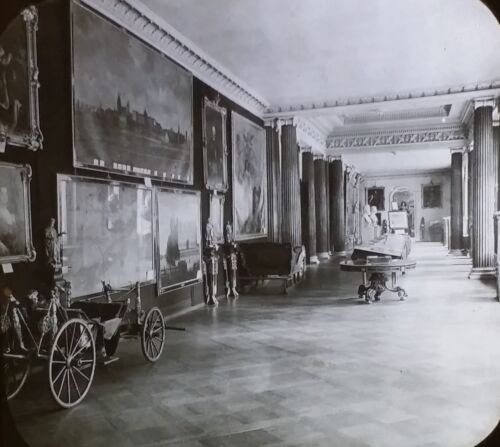 Room in Royal Chateau (Palace?), Berlin Germany,c1890 Magic Lantern Glass  Slide