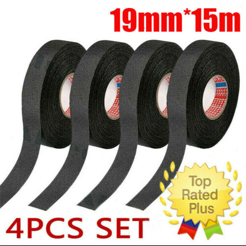 Tape Adhesive Cloth Fabric Tape Electrical Looms Wiring Harness Tape 19mm*15m