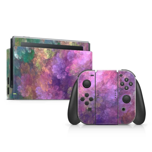 Fractal Abstract Vinyl Skin Sticker to Cover Nintendo Switch