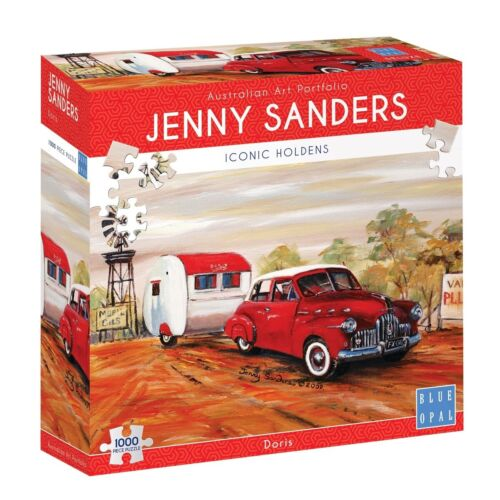NEW Blue Opal 2053 Jigsaw Puzzles Deluxe 1000 Red Holden Doris by Jenny Sanders