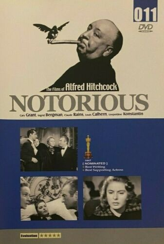 Notorious (1946) -  Cary Grant & Ingrid Bergman (Region All)