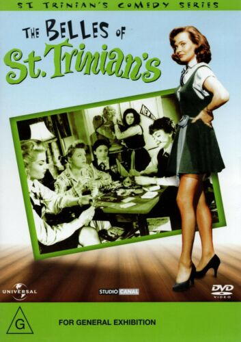 THE BELLES OF ST. TRINIAN'S - DVD - R 4 -N&S -Never played! -Original Oz release