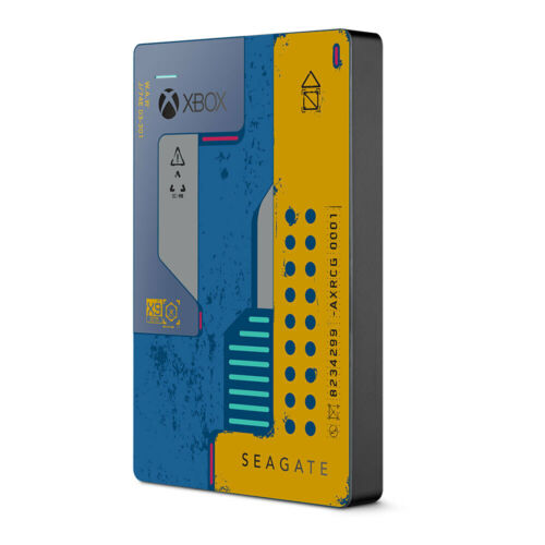 2TB Seagate Game Drive Cyberpunk 2077 Limited Edition - In Stock