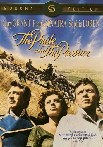 The Pride and the Passion (1957) - Cary Grant, Frank Sinatra (Region All)
