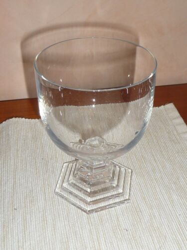 BACCARAT ORSAY bicchiere vino in cristallo made in France. Nuovo