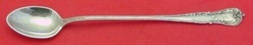 """Cromwell by Durgin Sterling Silver Iced Tea Spoon 7 5/8"""" Antique Silverware"""