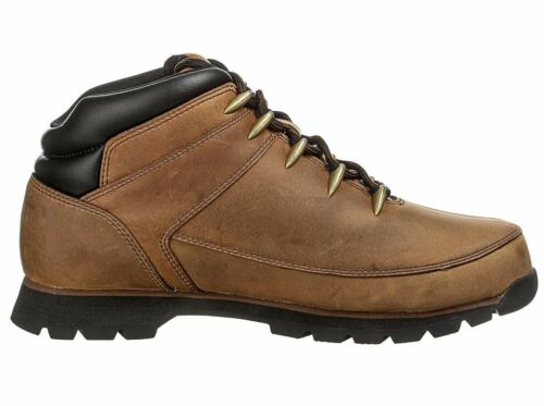 TIMBERLAND Men's Euro Sprint Leather Boots Light Brown UK 6.5, 12.5 A11ZB