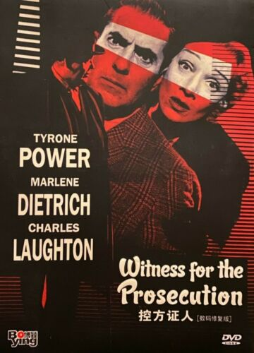 Witness for the Prosecution (1957) - Tyrone Power, Charles Laughton (Region All)