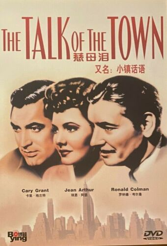 The Talk of the Town (1942) - Cary Grant, Jean Arthur (Region All)