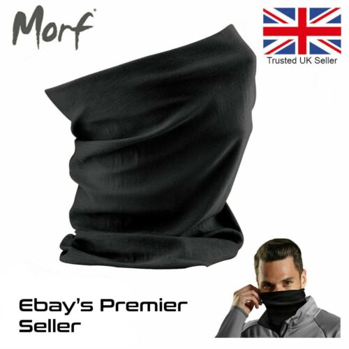3 in 1 Face Cover Beechfield Morf Original Snood Scarf Neck Nice Breathable Mask <br/> CHEAPEST PRICE ON EBAY 12 Colours In Stock - Going Fast