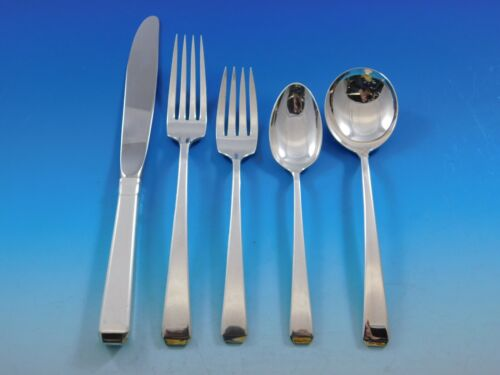 Craftsman by Towle Sterling Silver Flatware Set for 8 Service 46 pieces