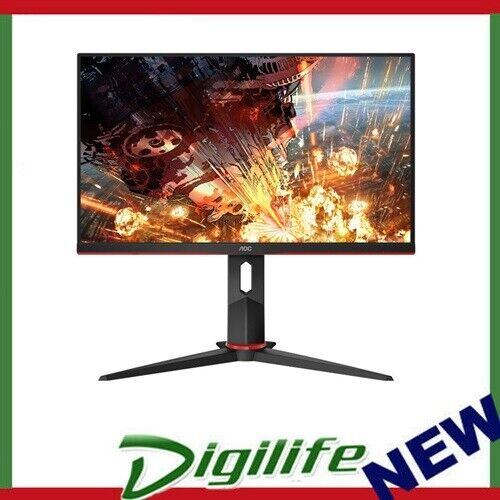 "AOC 23.8""  24G2 1ms 144Hz Full HD IPS LED Free-Sync, 1x VGA, 2x HDMI, 1x DP"