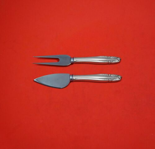 Stradivari by Wallace Sterling Silver Hard Cheese Serving Set 2pc Custom Made