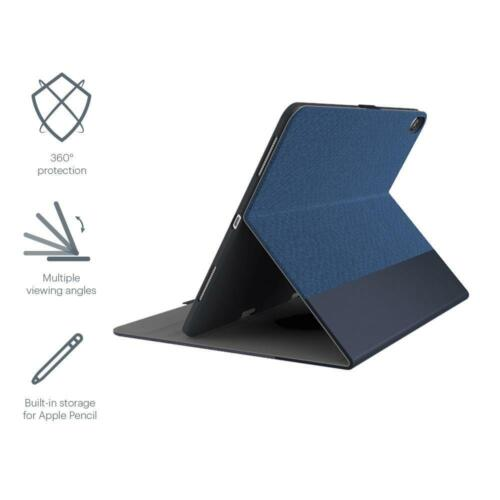 NEW Cygnett TekView with Apple pencil holder for iPad Pro 11 Navy/Blue (2019)