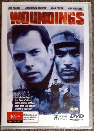 Woundings (Ray Winstone & Guy Pearce) DVD **BRAND NEW / SEALED** (All Regions)