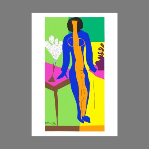 Henri Matisse - Zulma (signed lithograph, edition of 200)