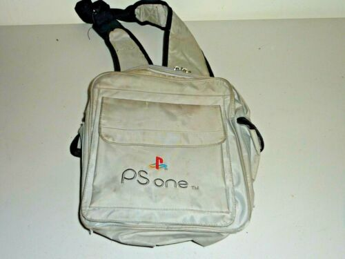 playstation 1 ps1 genuine slim console carry case pouch sling bag backpack rare