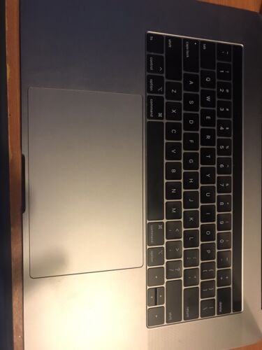 """Macbook Pro Retina 15"""" A1990 Palm Rest Keyboard Trackpad Touchpad Full Assembly"""