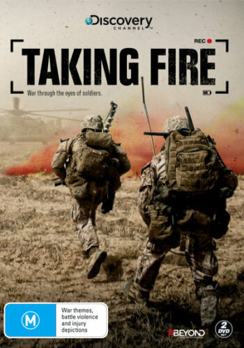 TAKING FIRE (DISCOVERY CHANNEL) (2016) [NEW DVD]