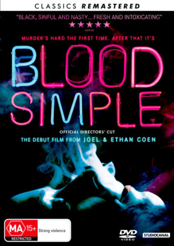 BLOOD SIMPLE (1984) [NEW DVD]