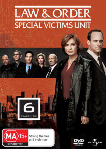 LAW & ORDER: SPECIAL VICTIMS UNIT - SEASON 6 (2003) [NEW DVD]