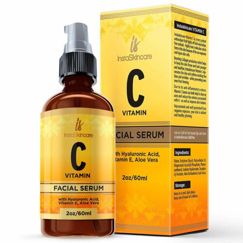 Vitamin C Serum for Face with Hyaluronic Acid Vita...